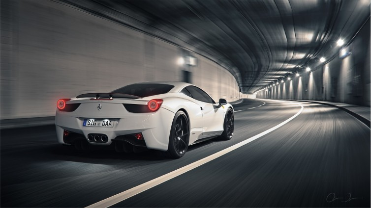 ferrari-458-italia-tunnel-hd-wallpaper