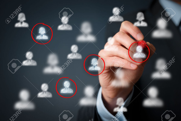 40655798-target-audience-marketing-segmentation-customers-care-labour-stock-photo